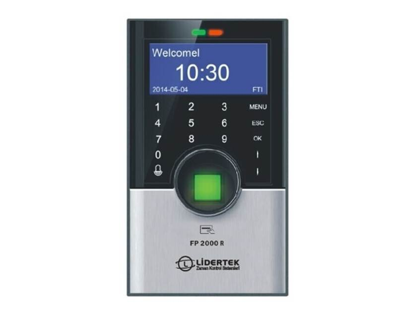 FP2000 R Parmak İzi Access