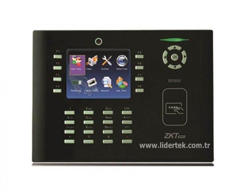 RF600 Kartlı Kameralı pdks